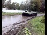На занятиях по вождению МТЛБ-гусянка ))) ч.2